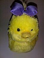 """Aurora Yellow Chick    8"""" Plush Stuffed Animal"""