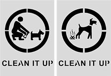 Clean it Up Stencil