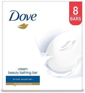 Dove Cream Beauty Bathing Bar With ¼ Moisturizing Cream  100g (Pack Of 4)