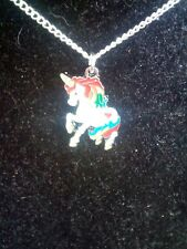 Childrens Unicorn necklace. Handmade