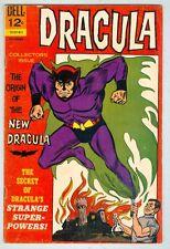Dracula #2 November 1966 VG- Origin