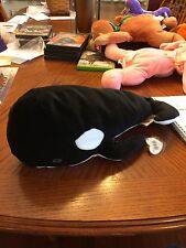 Tide The Whale Beanie Baby Pillow Pal! New, Never Displayed! Nice!