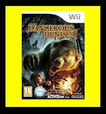 Cabelas Dangerous Hunts 2011 Nintendo Wii PAL Brand New