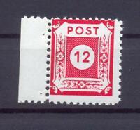 SBZ 46 DII b 12 Pfg. Postmeistertrennung Coswig postfrisch gepr. Ströh (xs59)