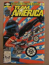 Team America #1 Marvel Comics 1982 Series Based on Toys Newsstand 9.2 Near Mint-