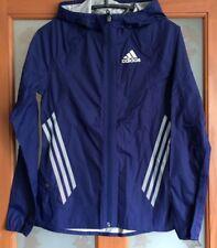 Adidas Adizero 2 Stripe Waterproof Running Jacket, Rain Jacket - Size 6