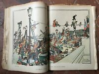 Revue satirique La Baïonnette et allemande ULK illustré année 1919