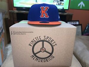 Kingsport Mets Fitted On Field New Era 5950 Cap Hat Size 7 7/8 New York NWT