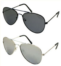 Wholesale Lots 12 Pairs Aviator Pilot Style Unisex Sunglasses With Uv400 Protect