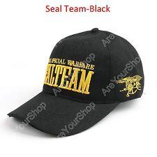United States Navy Seal Team Hat Trident Cap U.S Special Warfare Baseball Cap