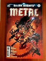 Dark Nights Metal #6C Kubert Variant NM 2018 Stock Image