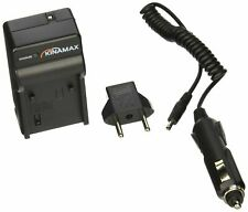 Kinamax Replacement Charger + Car Adapter for Sony Alpha DSLR-A230, DSLR-A330,
