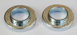 """3/8"""" BMX bicycle axle retainer safety washer Haro GT Dyno Robinson forks (PAIR)"""