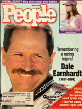 People magazine March 5, 2001 issue with Dale Earnhardt  (040112)