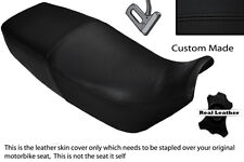 BLACK STITCH CUSTOM FITS SUZUKI GSX 1100 G 91-94 LEATHER DUAL SEAT COVER