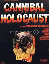 Cannibal Holocaust Vintage Movie 11x17 Poster