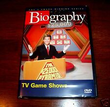 TV GAME SHOWS Classic T.V. History Gameshow Show Television Games A&E DVD NEW