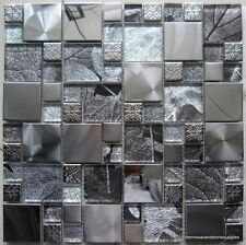 1NO SHEET SATURN  MODULAR MIX MOSIAC TILE  (0141) 30 X 30CM