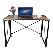 Home Office Computer Table Folding Desk Compact Workstation Pc Notebook Laptop