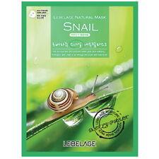 3 Pcs Snail Lebelage Natural Mask Facial Essence Sheet Pack Korea Korean Beauty