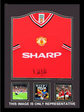Norman Whiteside signed shirt - 1985 Manchester United Red home shirt