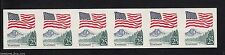 US #2280a PL#2 25¢ Flag Over Yosemite Stamp PNC6 Imperforated Plate Number Coil