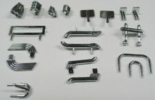 Set of Chrome Plastic Body Parts for HO Scale Slot Cars by JAG Hobbies