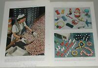 1939 magazine articles Modern Materials, PLASTICS etc info. history color photos