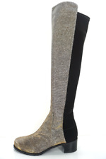 STUART WEITZMAN  50 50 Glitter Over The Knee Boots Sz 35 1/2 / US 5 1/2