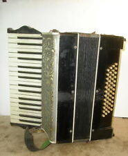 Hohner Piano Accordion 34 Key 46 Bass W/ Orig Case Tight  Made in Germany