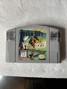 Dark Rift (Nintendo 64, 1997) N64 AUTHENTIC AND TESTED