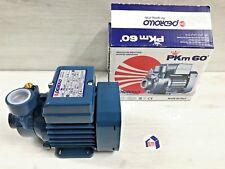 PKM60 ELETTROPOMPA POMPA AUTOCLAVE HP 0,5 GIRANTE PERIFERICA PEDROLLO