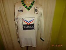 "Borussia Mönchengladbach asics Langarm Heim Trikot 1992-1994 ""trigema"" Gr.M"