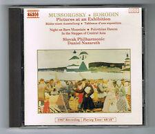 MUSSORGSKY - BORODIN - PICTURES AT AN EXHIBITION - NAXOS - CD - TRÈS BON ÉTAT