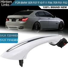 White Exterior Rear left Comfort Access door handle for BMW F10 F01 F02 F06 F11