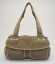 MIMCO BRAND NEW LEATHER DAY BAG IN MINK BNWT RRP$399