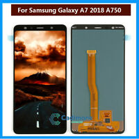 For Samsung Galaxy A7 2018 A750 A750F LCD Touch Screen Display Digitizer+Tools A