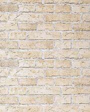 EDEM 583-20 Rustic design brick wallpaper decor vintage stone look sand-beige