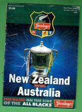#Kk. Rugby Union Program - 22/7 1995, New Zealand V Australia