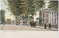 Norwich Connecticut~Broadway St~ Vintage Postcard early 1900s  *Free Shipping*