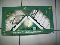 Weihnachtsbeleuchtung Philips Christbaumkerzen Weihnachtskerzen Lichterkette