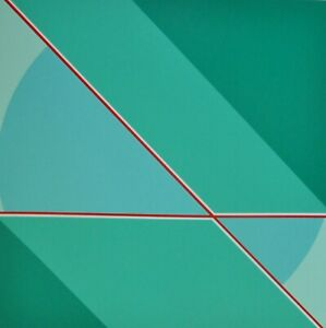 FRIEDRICH GEILER Geometric Composition 1987 Screen-print on PVC German Artist