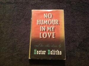 No Humour in My Love and 2 other stories By Hector Bolitho  Book