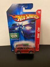 2007 Hot Wheels Code Car Audacious Red 88/180
