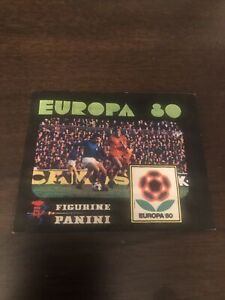 Panini Europa 80 sealed Unopened Sticker Packet
