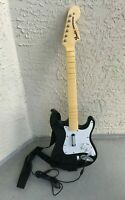Rockband Harmonix Wired Fender Stratocaster Guitar 822152 - For Xbox 360 TESTED