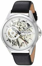 Kenneth Cole New York Men's Automatic Stainless Steel & Leather Watch KC50923001