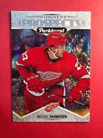 2018-19 Parkhurst Prominet Prsopects Rookie #11 Michael Rasmussen RC