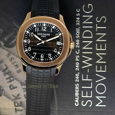 NEW Patek Philippe Mens Aquanaut 5167 18k Rose Gold Automatic Box/Papers 5167R