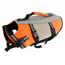 Chic Dog Life Jacket Pet Swimming Lightweight Vest W/ Handle Security Preserver